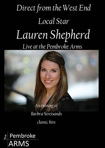 Lauren Shepherd – an evening of Barbara Streisand songs