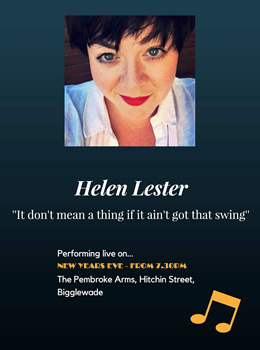 Helen Lester on New Years Eve